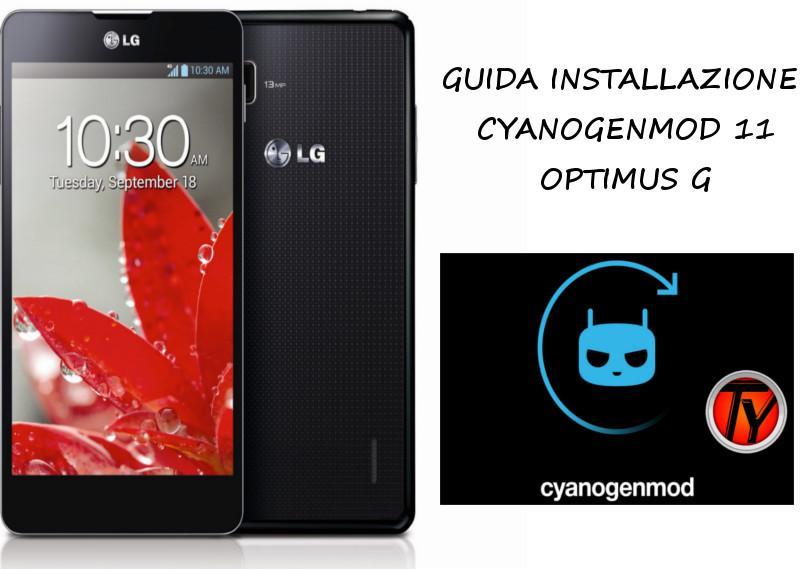 Optimus-G-CyanogenMod-11