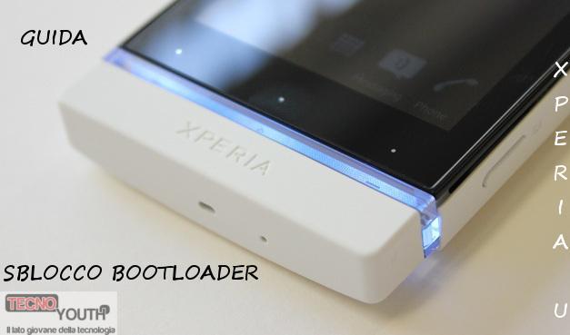 Sblocco-Bootloader-Xperia-U
