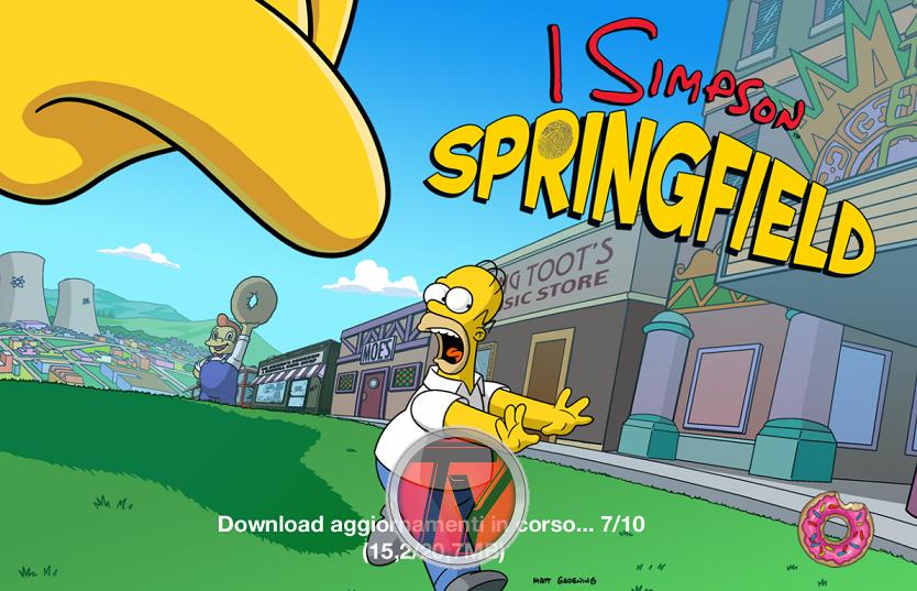 I Simpson-Springfield-4.7.3-ciambelle infinite-trucchi-giochi-ciambelle infinite
