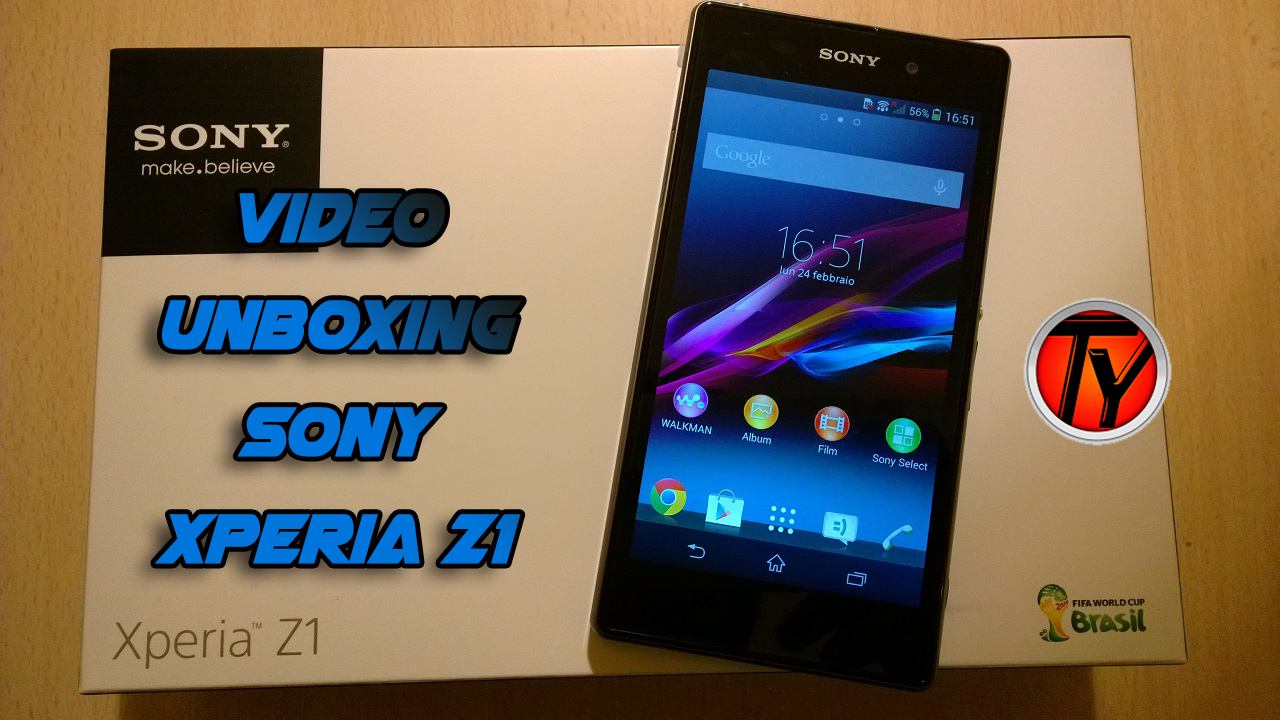 Xperia Z1-Unboxing