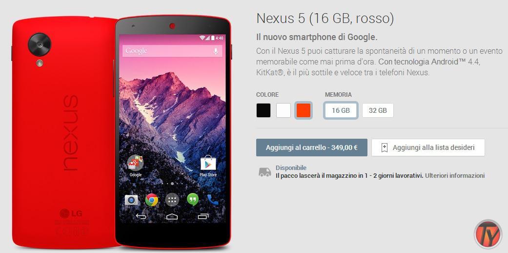 Nexus-5-rosso