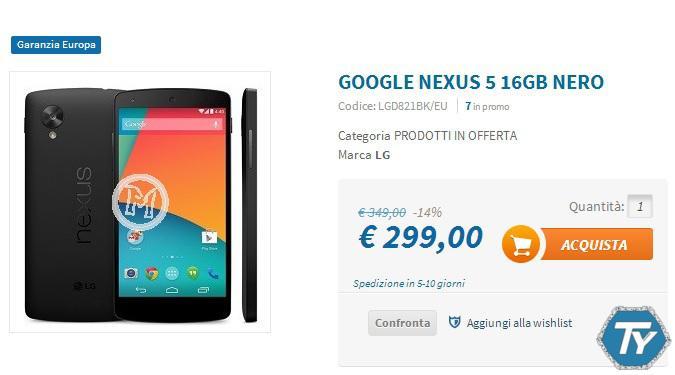 Nexus-5-in-offerta-Techmania