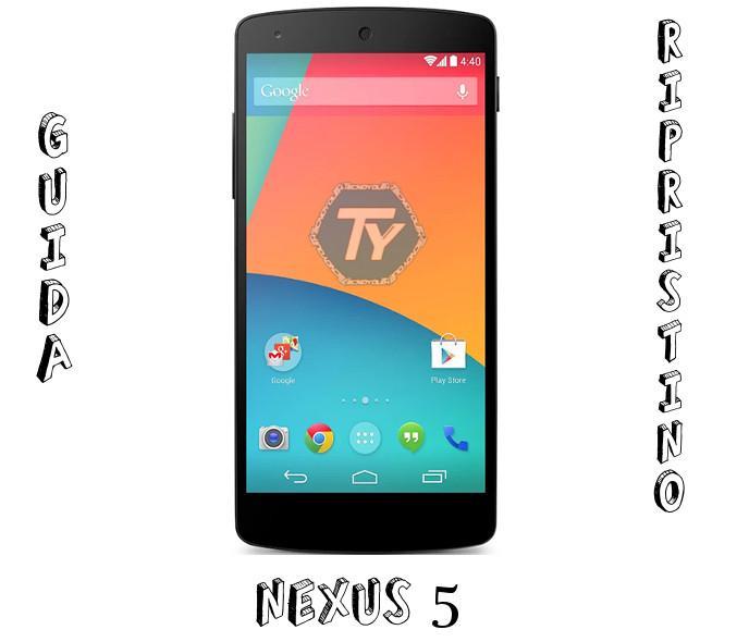 Nexus-5-ripristino-firmware