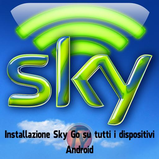 Sky Go APK Smartphone Android guida