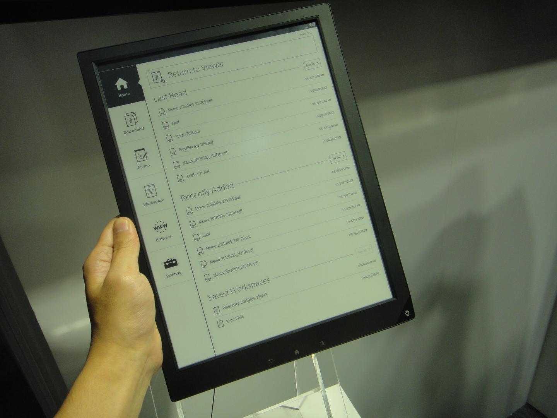 Sony-digital-paper