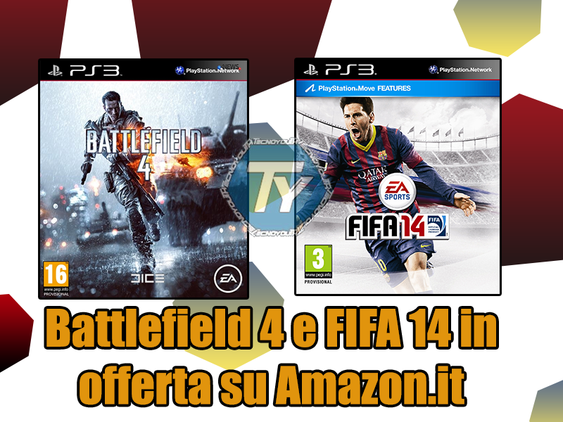 Battlefield4-FIFA 14-offerta-Amazon.it-PlayStation 3
