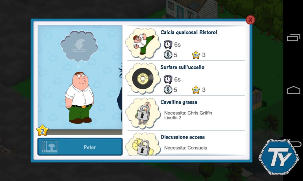Family Guy-Missione per la gloria-giochi-recensione-screenshot 2
