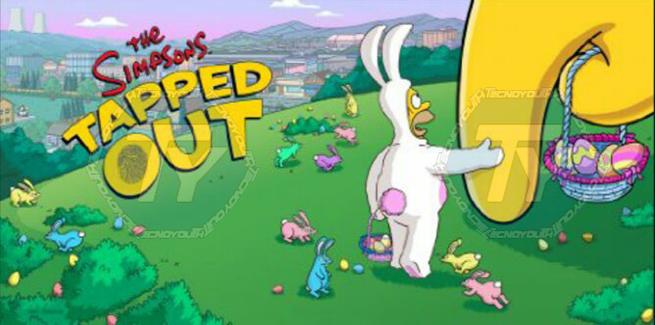 I Simpson-Springfield-Pasqua-aggiornamento-giochi