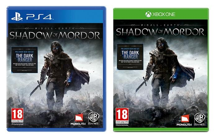 Middle-Earth-Shadow of Mordor-data d'uscita-cover ufficiale-giochi