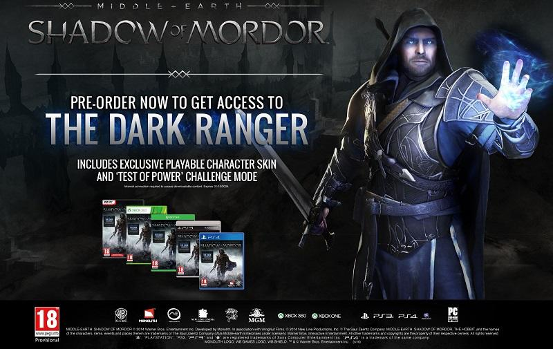 Middle-Earth-Shadow of Mordor-pre-ordine-giochi