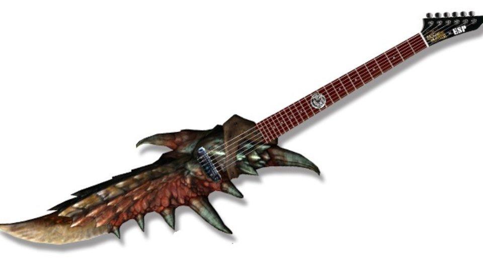Monster Hunter-chitarra-decimo-compleanno-22000-dollari-news