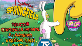 Trucchi-I Simpson Springfield-ciambelle infinite-Pasqua-Android