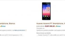 Huawei Ascend P7 preordini partiti su Amazon.it a 399€