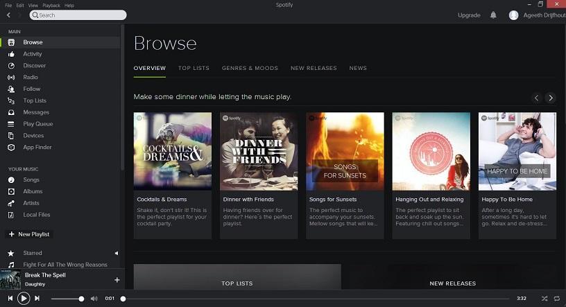 Spotify-per-Linux-0.9.10