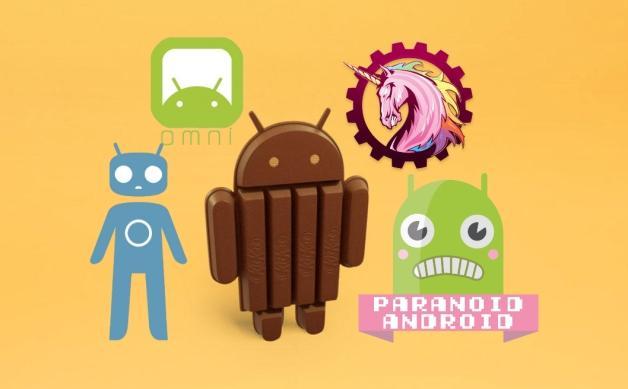 4.4.3 KitKat AOKP Paranoid Android