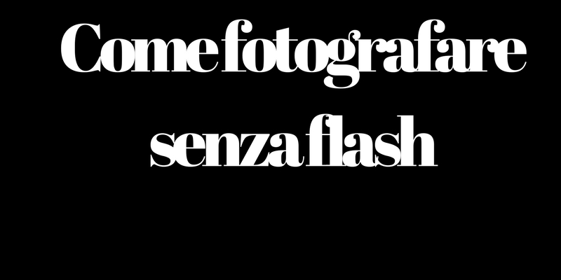Come fotografare senza flash con iPhone