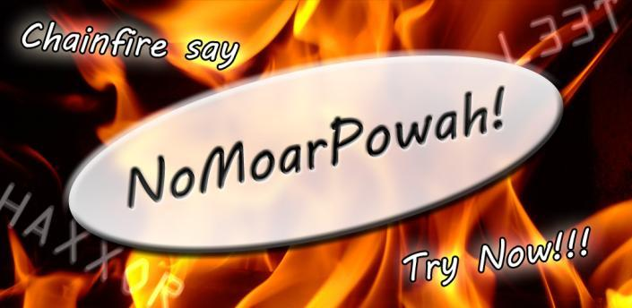 NoMoarPowah
