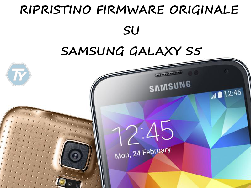 Ripristino Galaxy S5