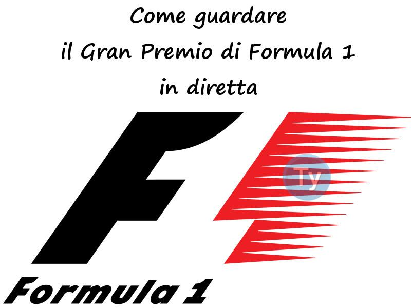 Gran Premio Formula1in streaming