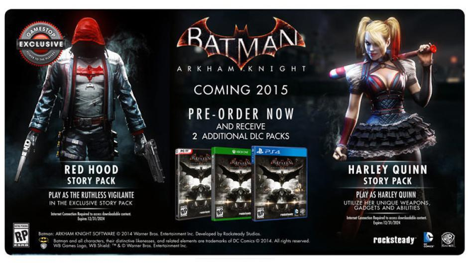 Red Hood-Story Pack-DLC-Batman-Arkham Knight