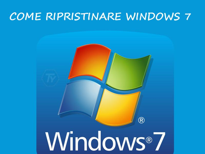 Ripristinare-Windows-7