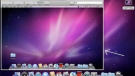 un esempio di screenshot su mac