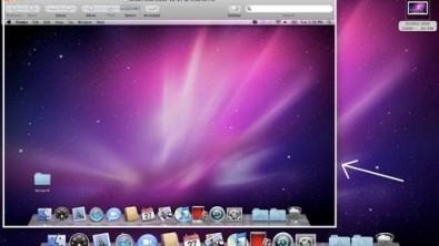 un esempio di screenshot su mac
