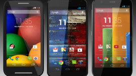 Android 4.4.4 per Moto G, Moto E e Moto X, roll out ufficiale in Europa