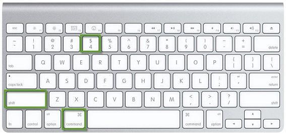 screenshot mac shortcut