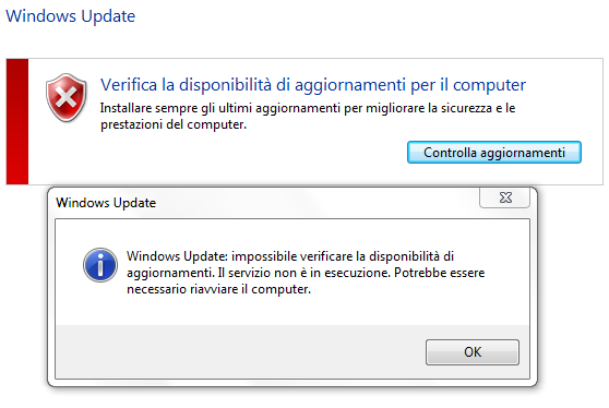 problemi-Windows-update