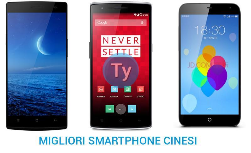 Smartphone android cinesi i migliori presenti sul mercato for I migliori telefoni
