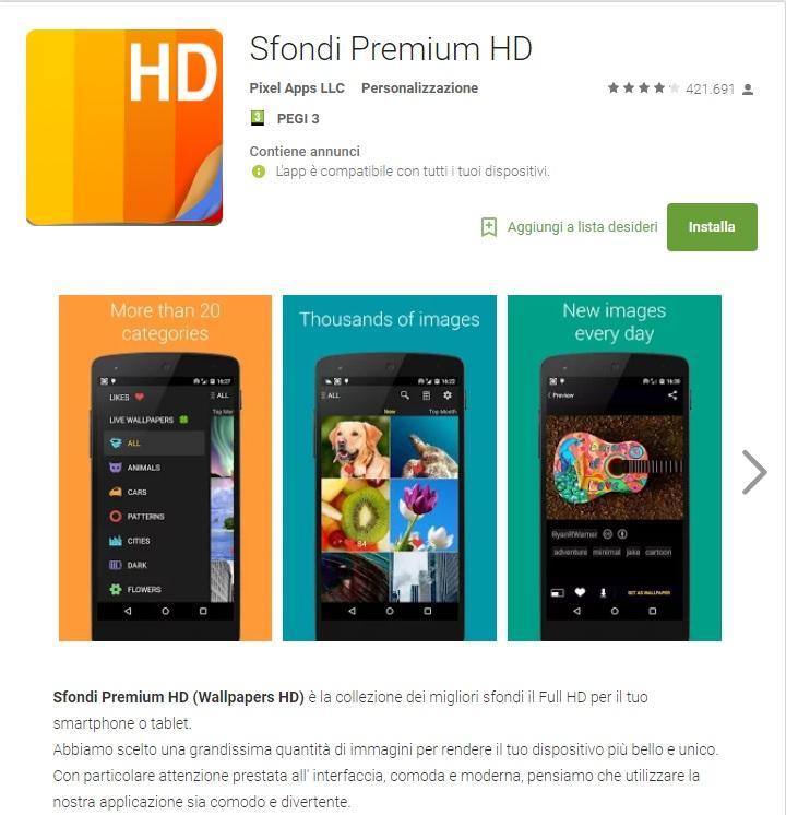 Sfondi Premium HD