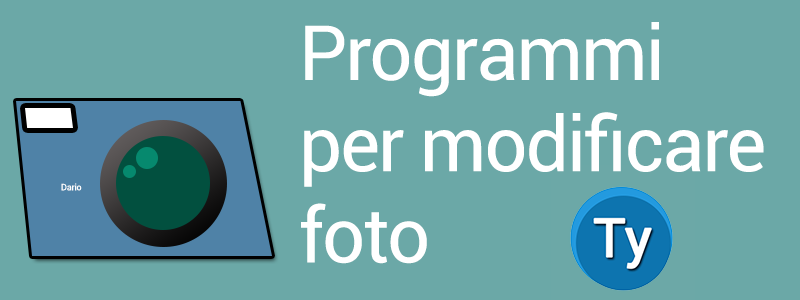 migliori software desktop per modificare fotografie
