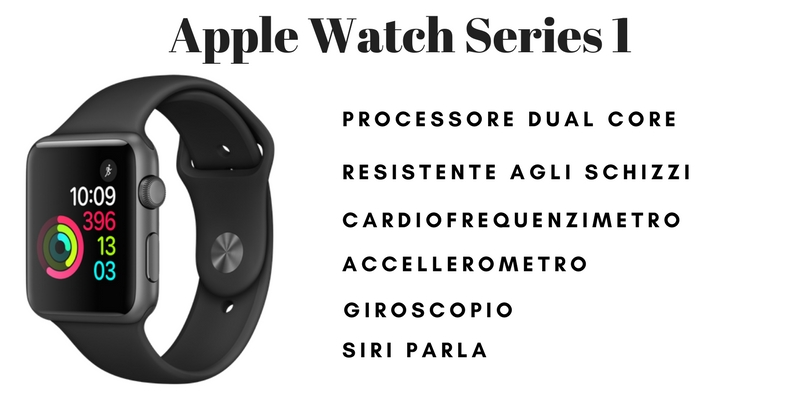 Apple Watch caratteristiche tecniche