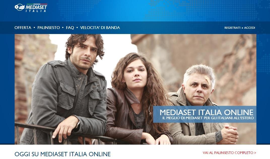 Mediaset-Italia-online