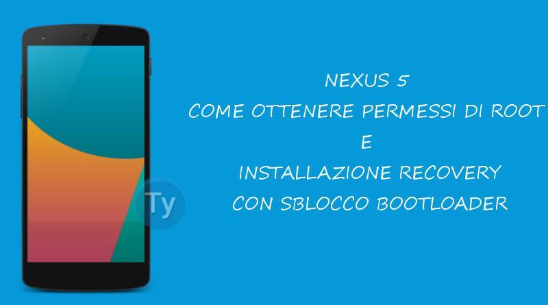 Nexus-5-Root-Recovery-Bootloader