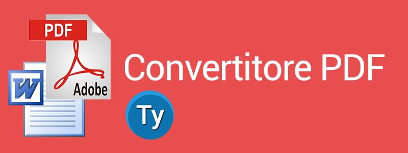 un utile convertitore PDF
