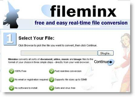 fileminx-convertitore