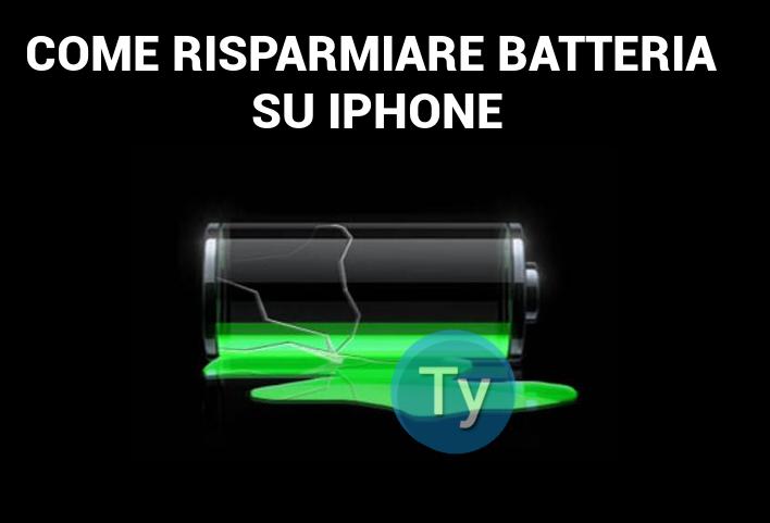 Come risparmiare batteria su iPhone e ottimizzare la durata della carica