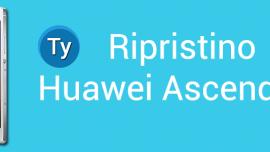 Come ripristinare Huawei Ascend P7, ripristinare le impostazioni di fabbrica