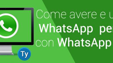 Come avere e usare whatsapp per PC