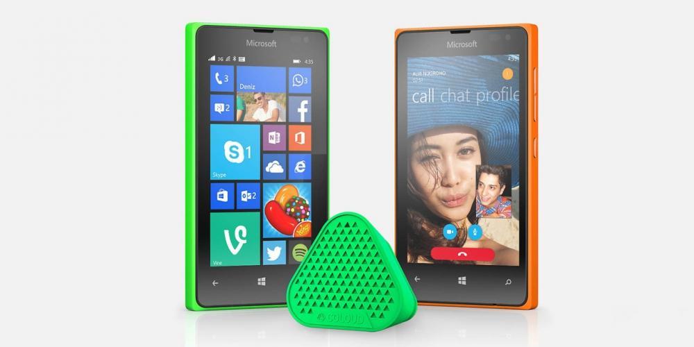 Lumia 435 e Lumia 532