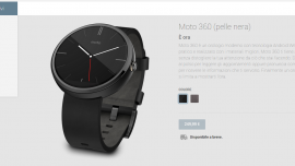 Moto 360 Play Store Italia