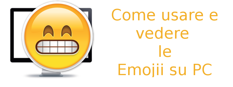 usare e vedere emojii pc
