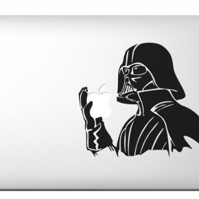 Adesivo Macbook Darth Vader