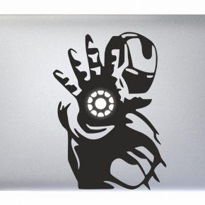 Adesivo Macbook Iron Man