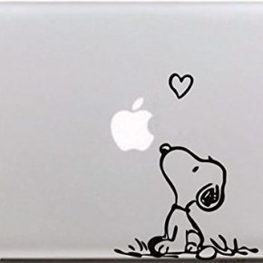 Adesivo Macbook Pro Snoopy