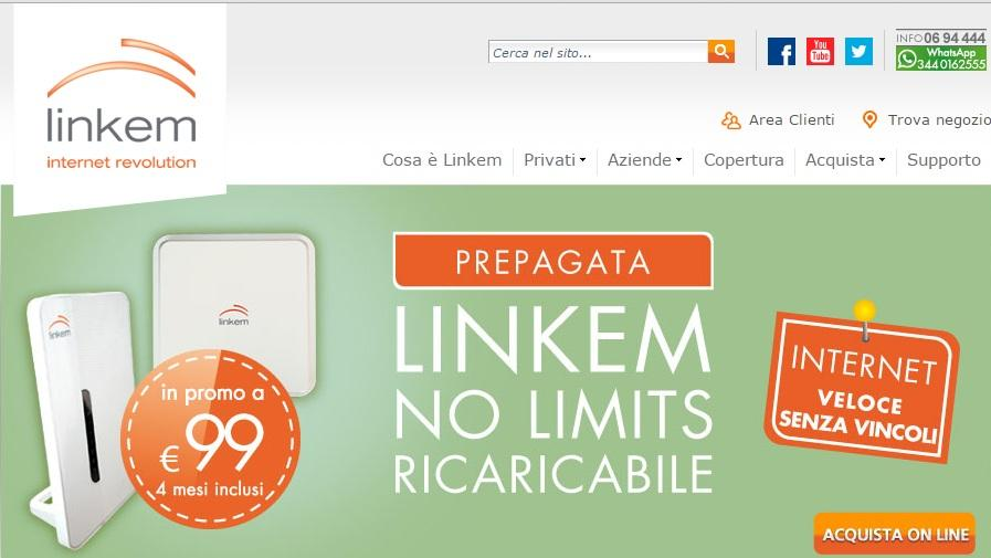 Linkem No Limits Ricaricabile