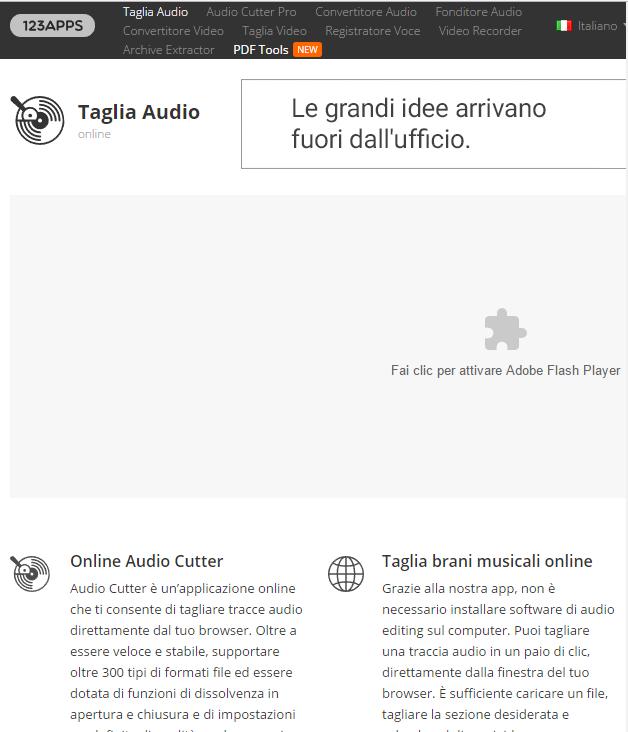 MP3Cut: crea suonerie gratis per cellulare