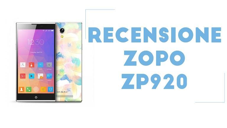 Zopo ZP920 recensione completa